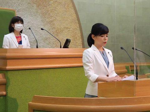 今定例議会から、議会の生中継を開始しました。