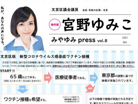 みやゆみpress  vol.8